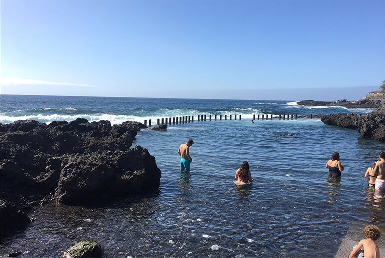 Top 10 piscinas naturales en Tenerife 9