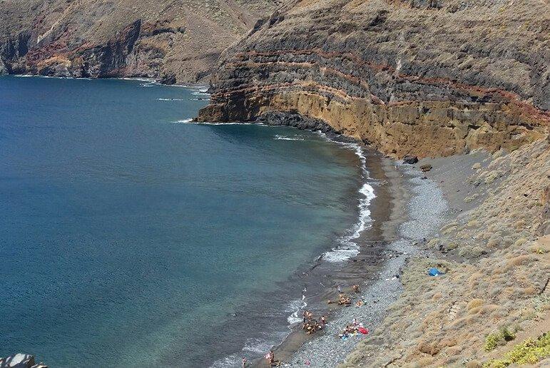 Sendero a Playa de Antequera desde Chamorga 1