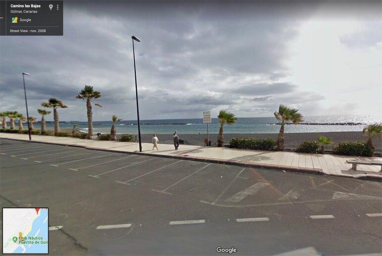 Perros: Playa del Cabezo o del Puertito de Güimar 1